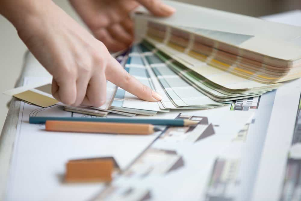 planning for a commercial paint job